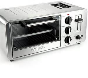 Waring Oven Toaster Waring Wto150 Toaster Oven 4 Slice With Built In Toaster