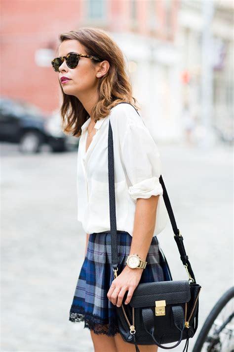tips  chic school girl style fashion glam radar