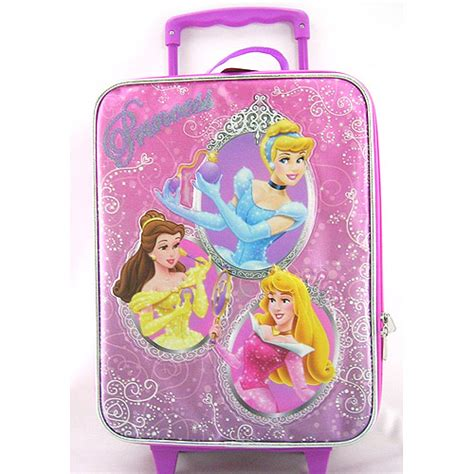 disney princess kids rolling luggage walmart com
