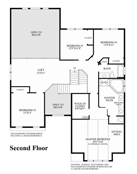 richmond floor plan loudoun valley the glen quick delivery home richmond