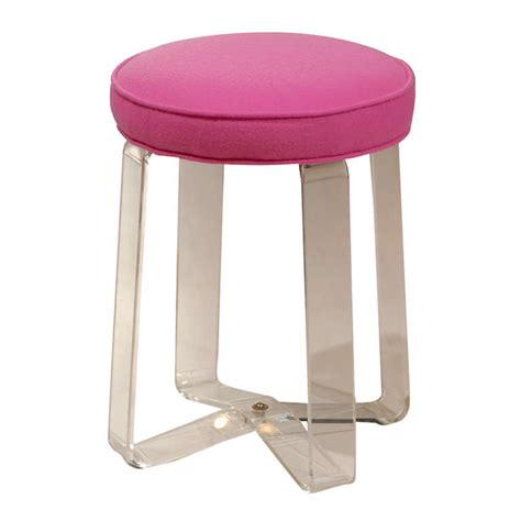 Lucite Stool by Lucite Stool At 1stdibs
