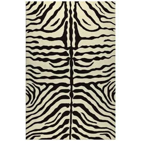 Zebra Indoor Outdoor Rug Zebra Stripe Brown Indoor Outdoor Rug K0190 Www Lsplus