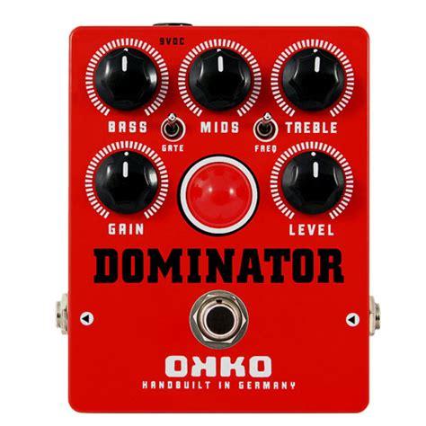 Dominator Mkii Okko Pedal okko fx dominator mkii