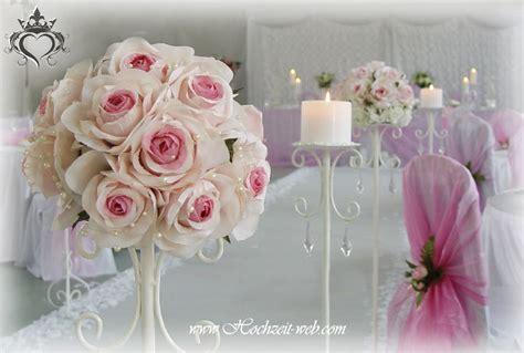 Deko Hochzeit Rosa by Hell Rosa