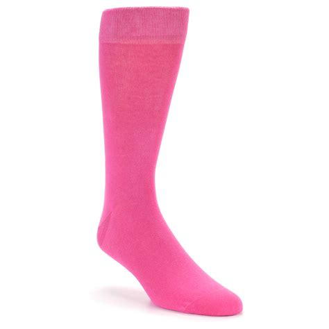 mens colored socks pink solid color s dress socks boldsocks