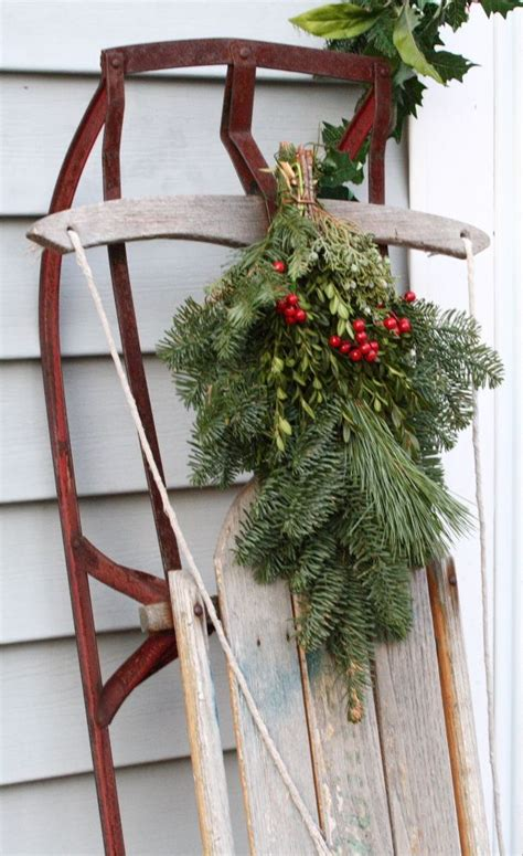 Sled Decoration by Sled Decoration Seasonal Crafts Decorating