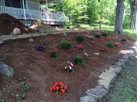 shaded flower bed flowers plants gardening pinterest