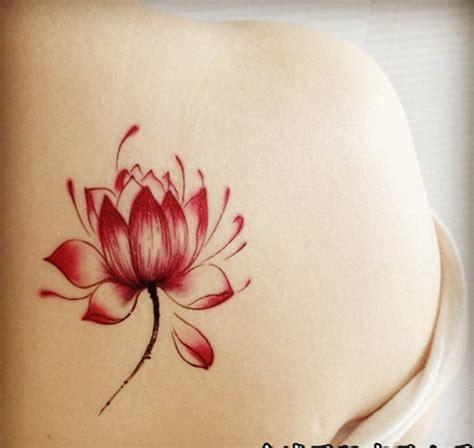 lotus flower shoulder tattoo 53 best lotus tattoos designs