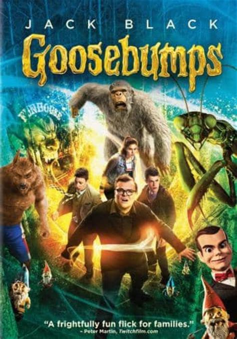 goosebumps film recommended age goosebumps for rent other new releases on dvd at redbox