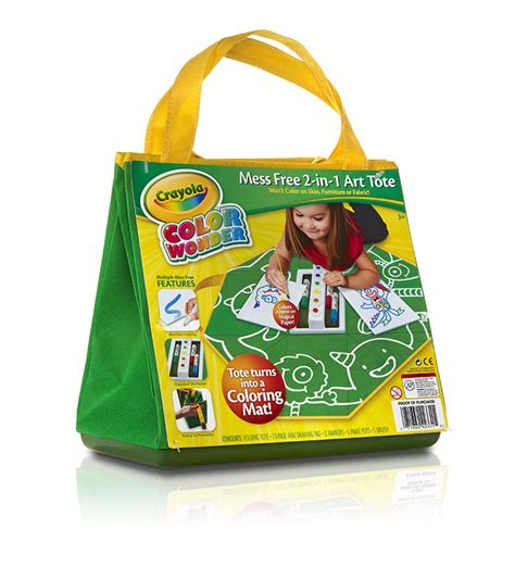 Crayola Marker Mat by Crayola Color Mess Free 2 In 1 Tote Toys
