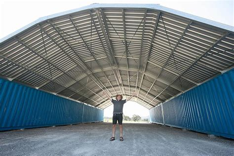 Diy Outdoor Living Spaces - durable portable easy to install shipping container roof kits