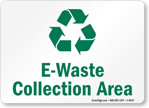 Etiketten Zeichen by Electronic Recycling Signs Labels