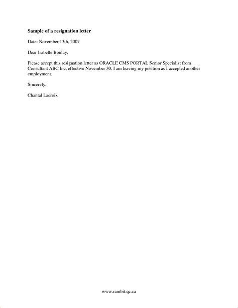 2 weeks notice letter sle business templated business templated