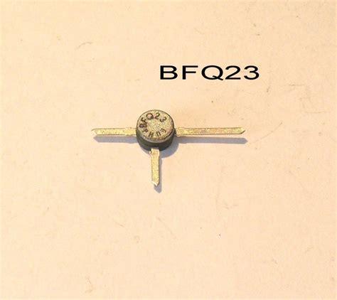 transistor ft philips bfq23 pnp wideband bipolar transistor ft 5ghz sot 37 symkrilag uk