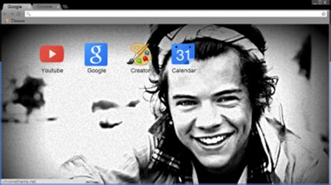 chrome themes larry stylinson harry styles chrome themes themebeta