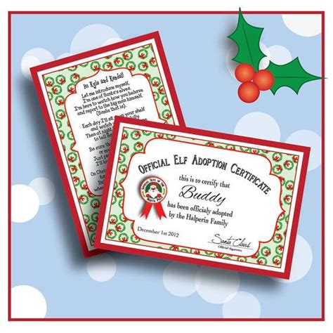 printable personalized elf on the shelf letter digital personalized elf welcome letter poem and