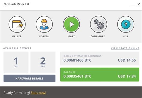 Bitcoin Cloud Mining V2 by Nicehash Miner V2 0 1 10 Forum Bitcoin Indonesia