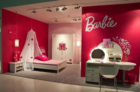 barbie bedroom decor girls barbie bedrooms pink colored interior design