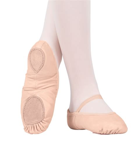 ballet slippers for neoprene arch leather split sole ballet shoes ballet