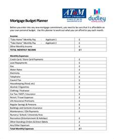 Budget Planner Free Template by Monthly Budget Planner Template 10 Free Excel Pdf