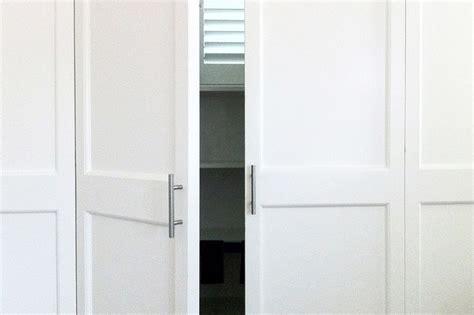 custom closet doors craftsman closet orange county