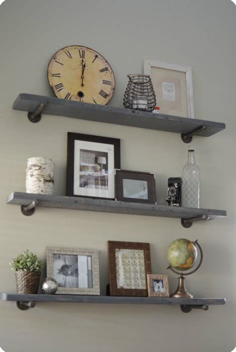 reclaimed wood and metal wall shelves renovations