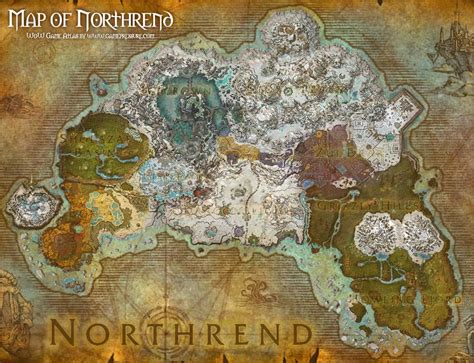 wow map world of warcraft how to get to northrend from stormwind total wow