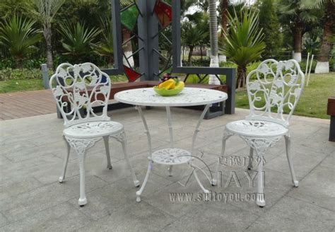 Online Buy Wholesale White Aluminum Outdoor Furniture From White Aluminum Patio Furniture