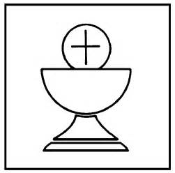 chalice template chalice host colouring pages