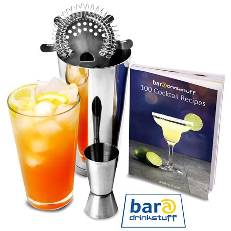 cocktail shaker set basic cocktail shaker set with cocktail book cocktail