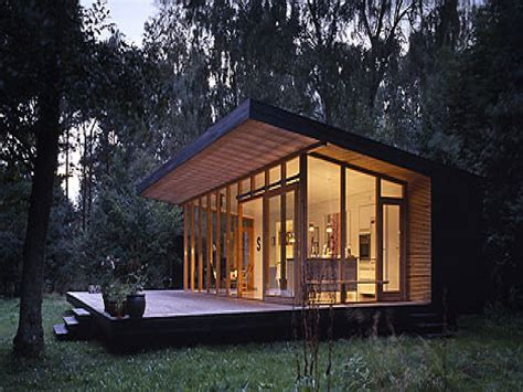 Small Modern Cabin Plans | modern cabin floor plans modern house