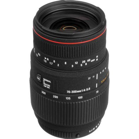 Sigma Dg 70 300mm sigma 70 300mm f 4 5 6 apo dg macro autofocus lens 508109 b h