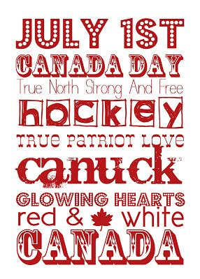 Oh Canada The For And Against Made In Canada - vixenmade free printable friday canada day