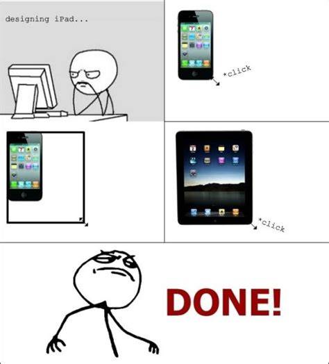 Ipad Meme - meme comics moar meme comics you can do this be a man