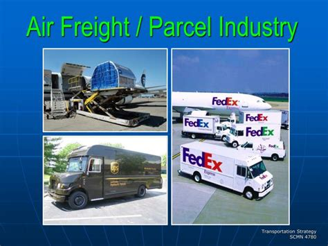 ppt air freight parcel industry powerpoint presentation id 4141406