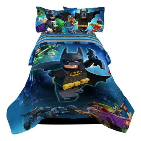 batman lego twin full quot no way brozay quot reversible comforter