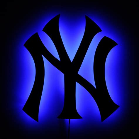 Yankee L by Lighted Yankees Sign Led Backlit New York Yankees By