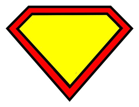 superman alphabet template blank superman shield writing template clipart best