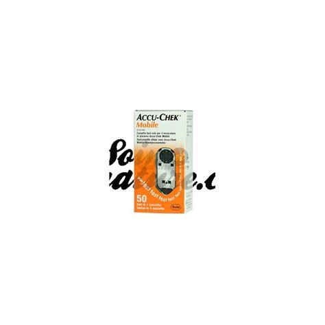 accu chek test cassette accu chek blood glucose monitoring mobile 2 cassettes 100
