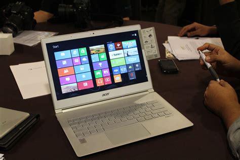 Harga Acer Ultrabook S7 acer mengumumkan aspire z3 aio dan aspire s7 untuk pasaran