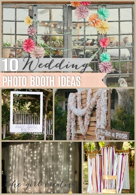 Weddingku Photo Booth by 10 Diy Wedding Photo Booths The Creative