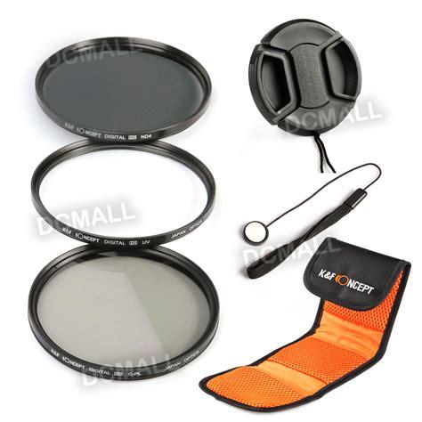 Filter Kit Slim Pro Cplmc Uv 55mm 52mm slim uv cpl polarizing nd4 lens filter kit for nikon a f s dx nikkor 18 55 ebay