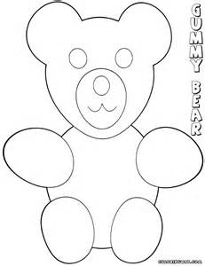 gummy bear coloring pages coloring pages to download and