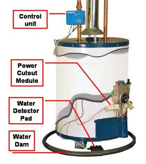 water heater flood protection watts floodsafe protection from leaking water heaters