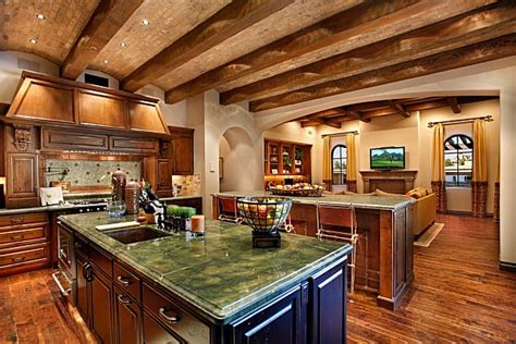 custom home design ideas arizona custom kitchen decorating ideas sonoran desert