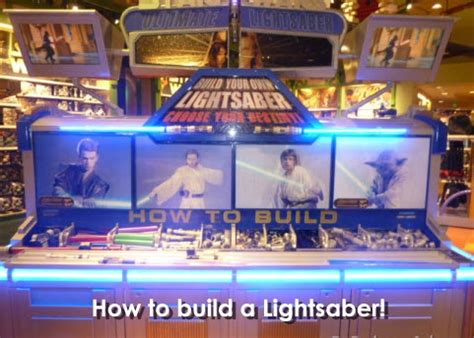 magical memories how to build a lightsaber magical mouse planner disney tips disney vacations