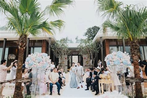 thailand wedding traditions pastel and golds for a traditional outdoor thailand
