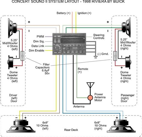 1997 buick lesabre radio wiring diagram wiring diagrams