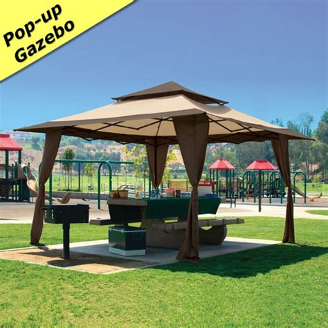 10x10 Deck Gazebo 13 X 13 Pagoda Pop Up Gazebo Canopy