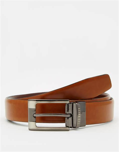 Ted Baker Belt Reversible ted baker crafti smart leather reversible belt in brown
